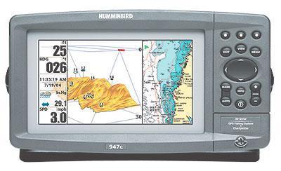 Humminbird 947c 3D Combo