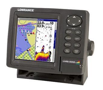 Lowrance LMS-522c iGPS