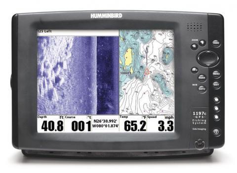 Humminbird Fishfinder 1197c SI Combo
