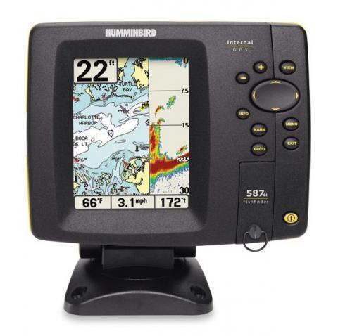 Humminbird Fishfinder 587ci Combo