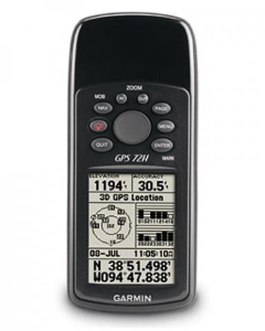 Garmin GPS 72H Bundle
