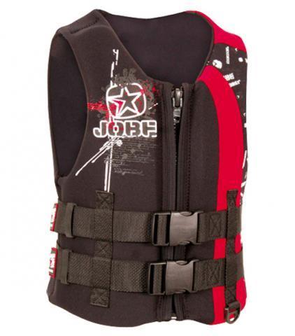 Jobe Rebel Square Youth Jacket Red