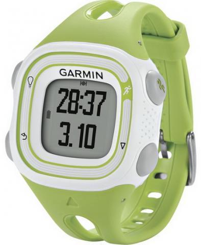 Garmin Forerunner 10 Green and White (010-01039-04)