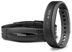 Garmin Vivosmart Slate HRM Bundle Large (010-01317-55)